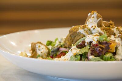 Greek Lamb Salad - Cafe Hills District