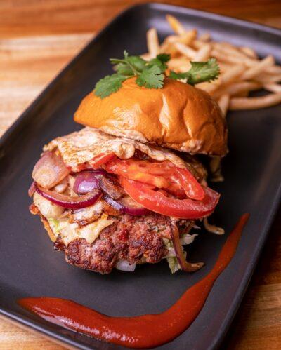 Lamb Burger - Best Burgers Bella Vista