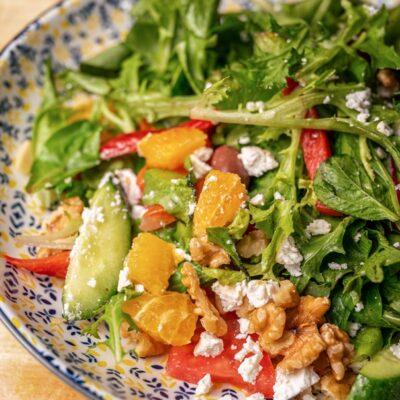 Mediterranean Salad - Best Restaurants Norwest