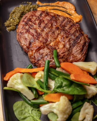 Scotch Fillet - Steak Food Places Bella Vista